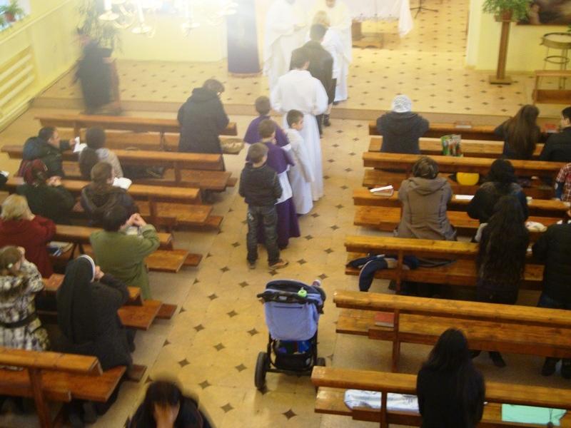 Паломничество семей в год веры