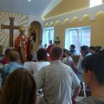 Освящение новой часовни в г. Азове